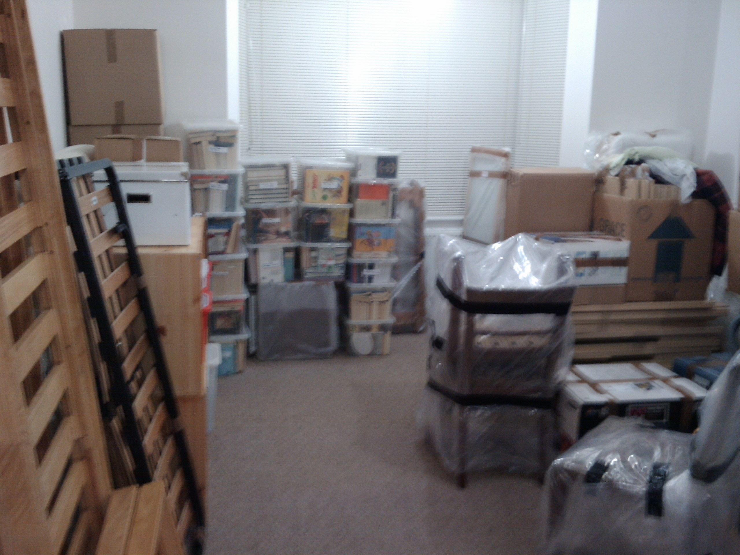 Boxes, boxes everywhere...